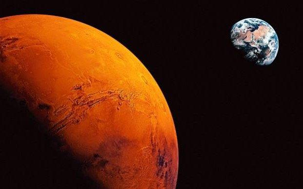 Люди высадятся наМарсе в 2035г.