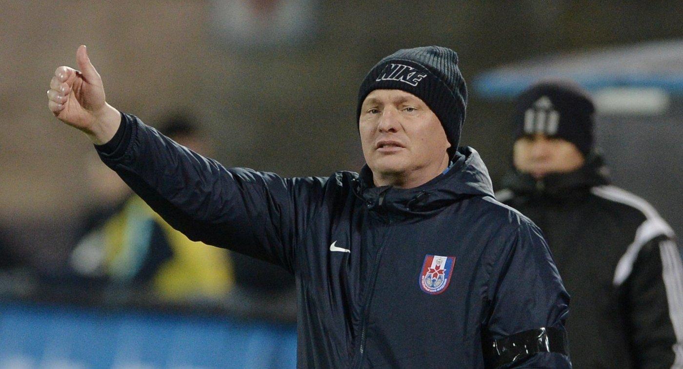 ФК СКА-Хабаровск расстался с главным тренером Андреем Гордеевым