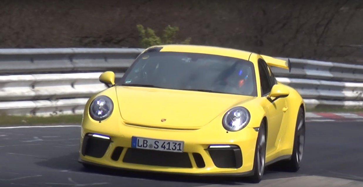 Обновленный тип Порш 911 GT3 побил собственный рекорд наНюрбургринге
