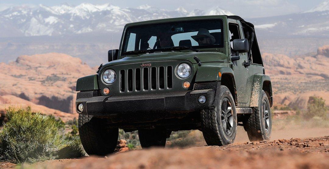 Компания Jeep выпустит обновлённую версию джипа WranglerJL