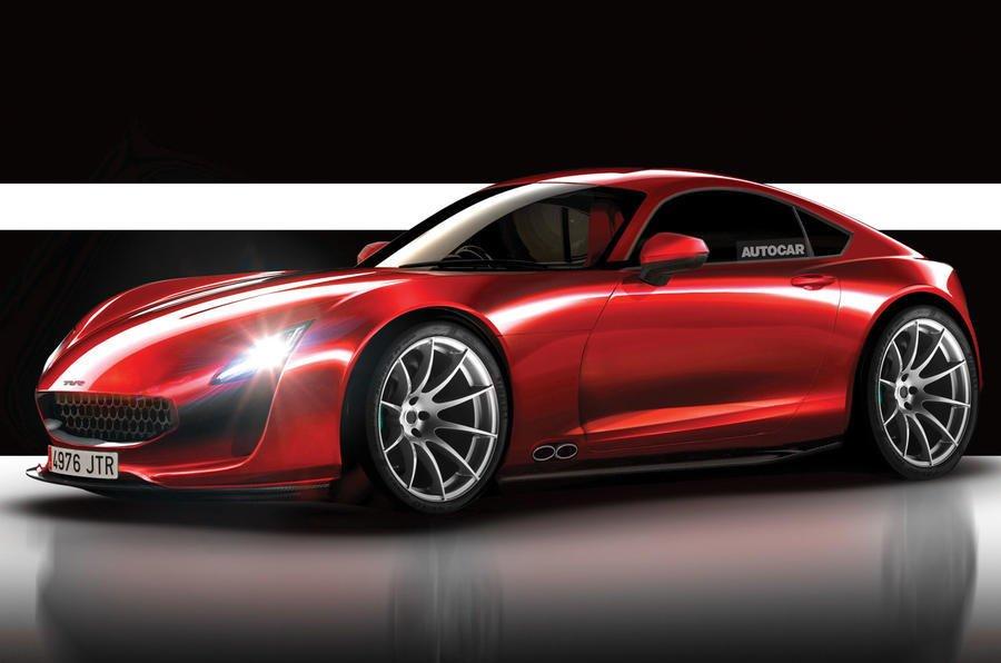Возрожденная TVR готовит новый спортивный автомобиль Griffith