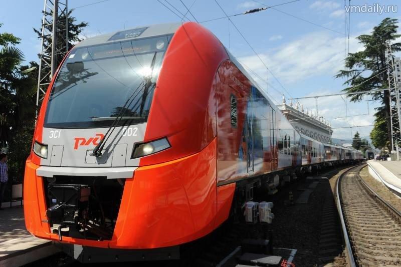 Подростки закидали камнями поезд МЦК