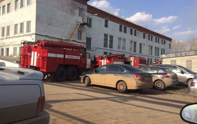 ВПермском крае полыхает фабрика игрушек