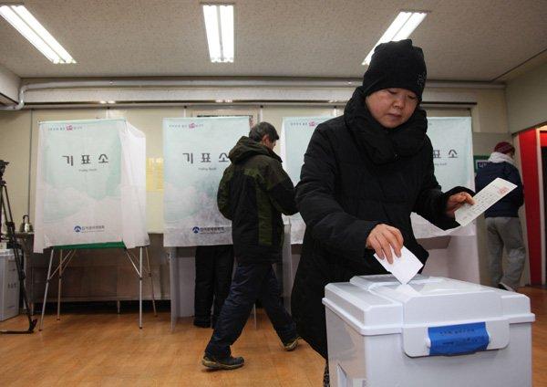 Преждевременное голосование впреддверии президентских выборов идет вЮжной Корее
