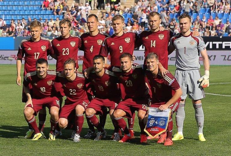 Месте на по россии на футболу мира чемпионате сборная каком