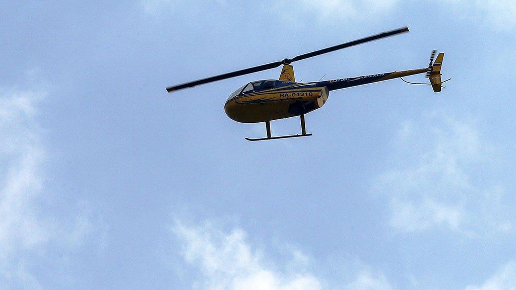 В РФ  разбился наблюдавший запожарами вертолет