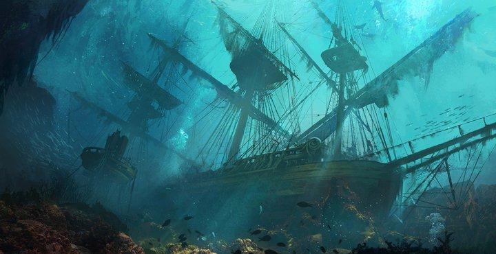 Кладбище затонувших кораблей найдено вМексиканском заливе