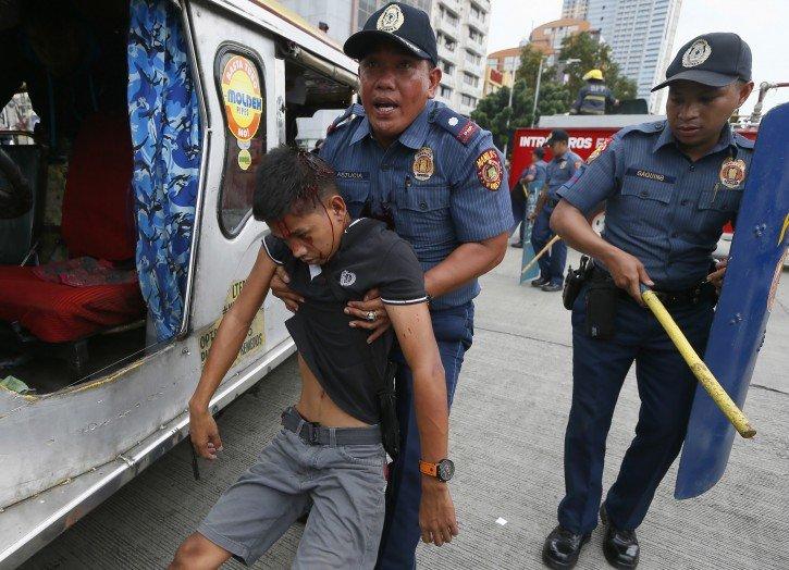 Два взрыва прогремели встолице Филиппин, необошлось без жертв