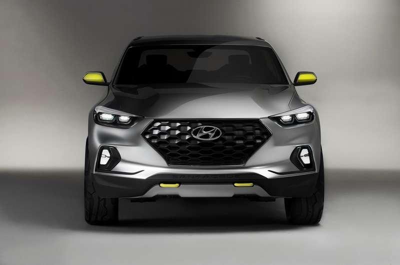 Серийный пикап Hyundai Santa Cruz появится в продаже в 2020 году