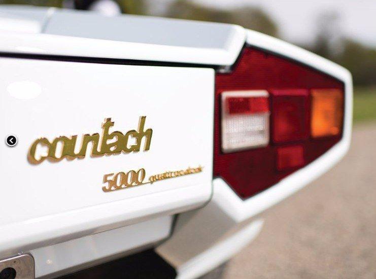 Lamborghini Countach 5000 QVпродадут смолотка за575 тыс. евро