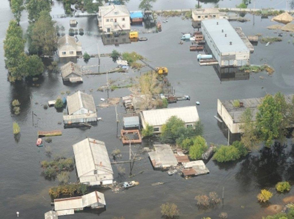 ВИшимском районе Тюменской области паводком подтопило неменее 300 участков