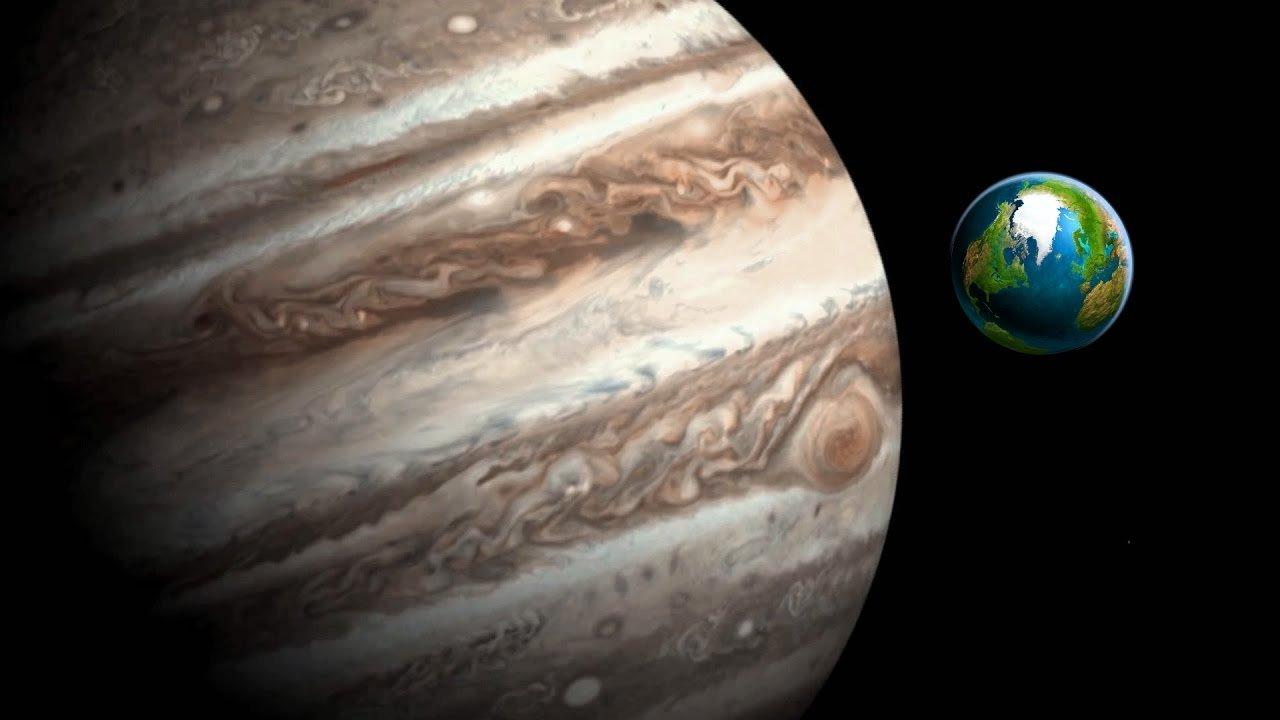 Магнитное поле Юпитера создает помехи наЗемле