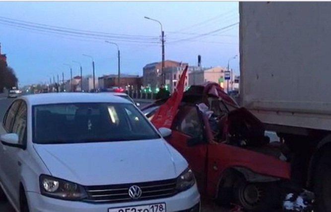 ВДТП вПетербурге наОбводном канале умер  шофёр