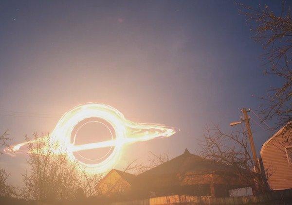 Роскосмос продемонстрировал, как выглядит темная дыра изокна дачи