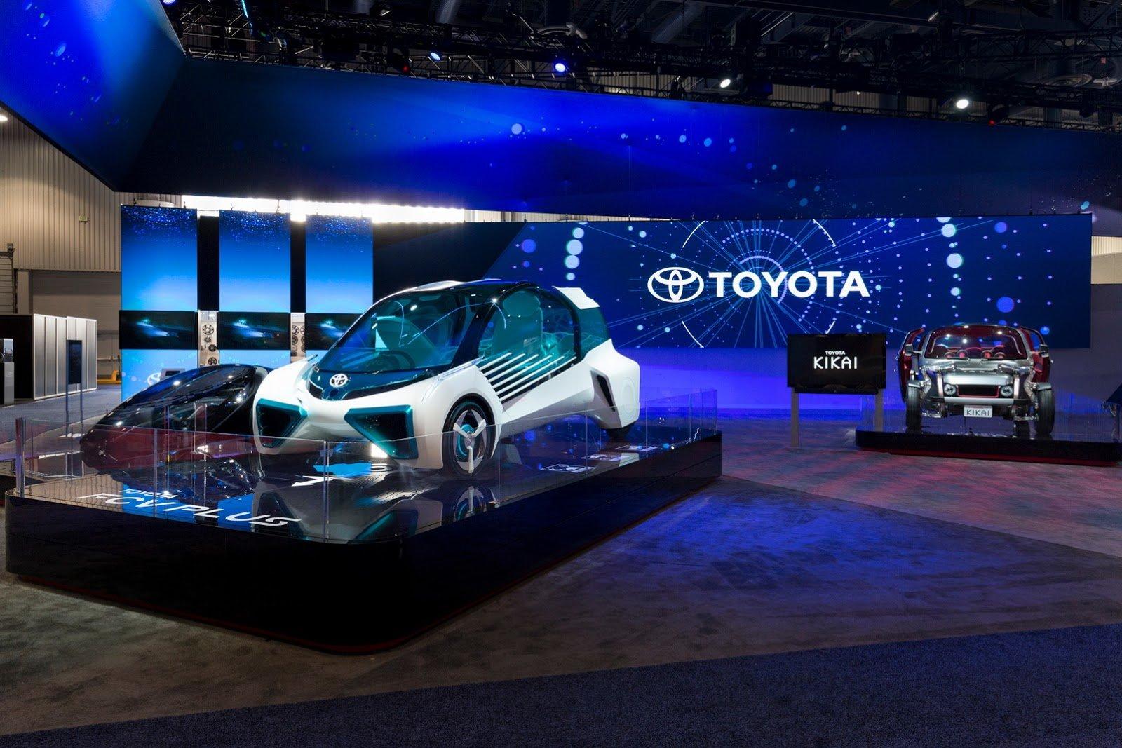 Тоёта будет разрабатывать «автопилот» вместе с Nvidia