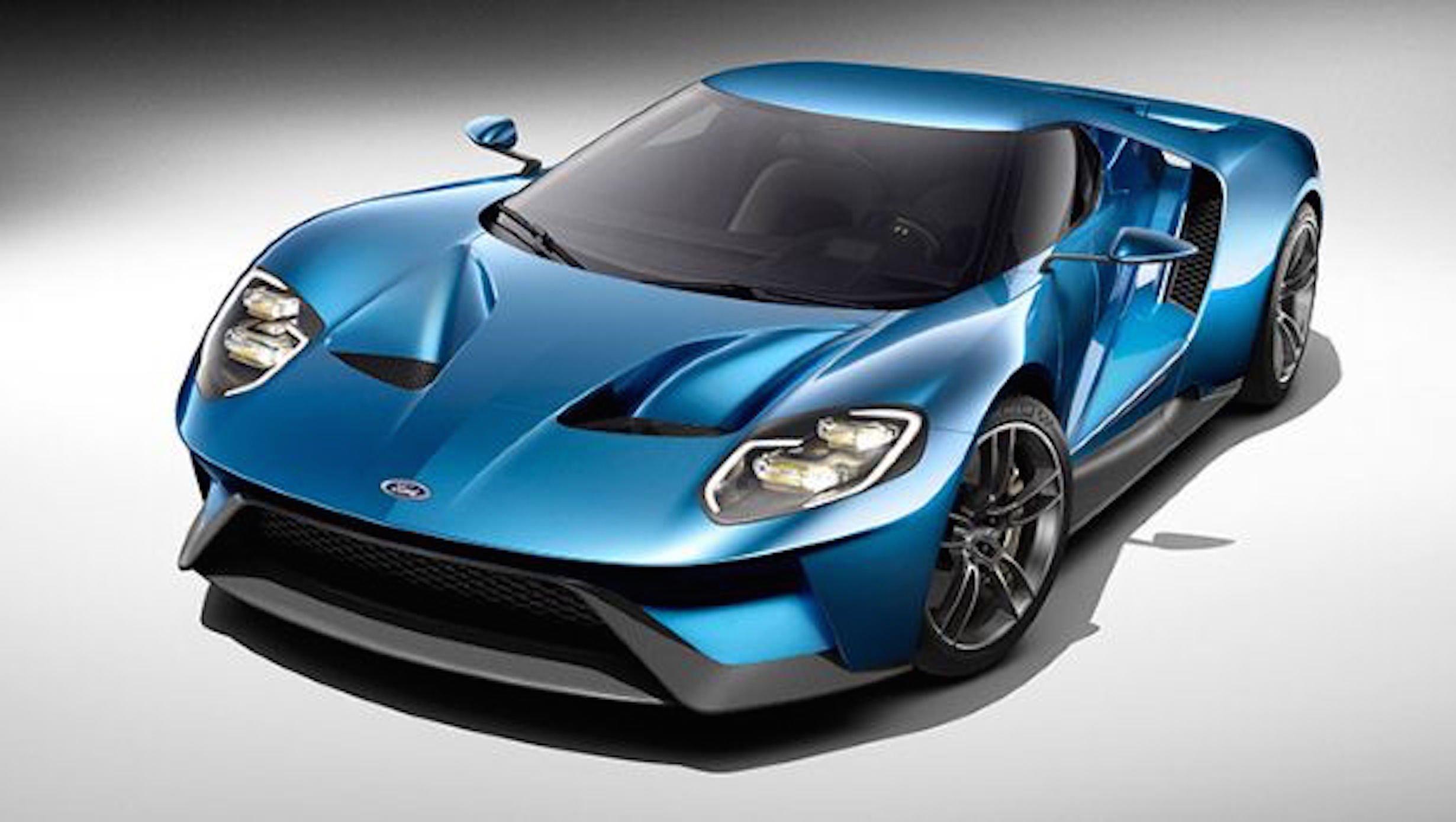 ВСША провели тестирования обновленного поколения спорткара Форд GT