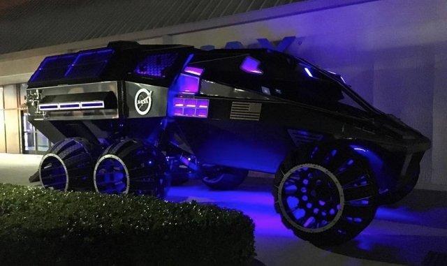 Инженеры NASA придумали бэтмобиль для проекта колонизации Марса