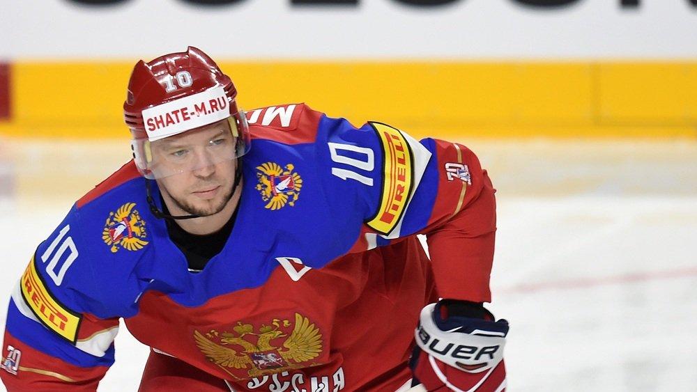 Капитан сборной России похоккею пропустит остаток чемпионата мира