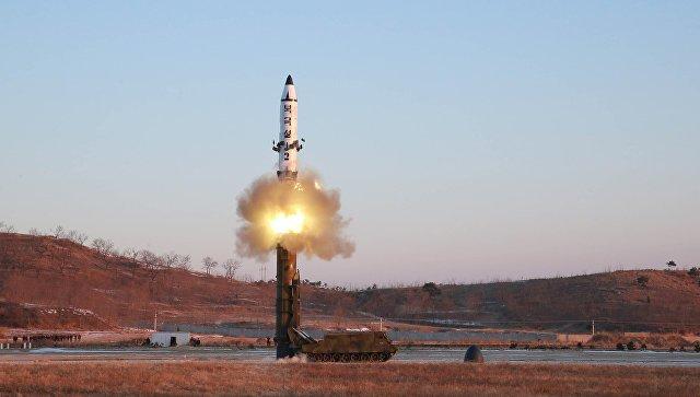 Северная Корея осуществила ракетный запуск