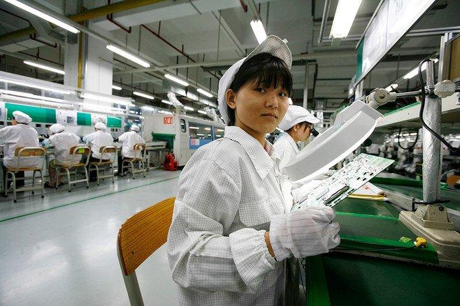 Объем индустриального производства Китая вырос весной менее, чем предполагалось