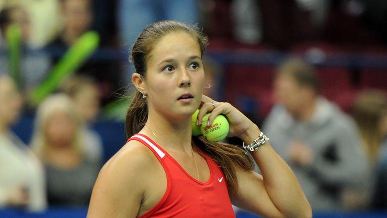 Русская теннисистка Касаткина безуспешно упала натурнире вРиме