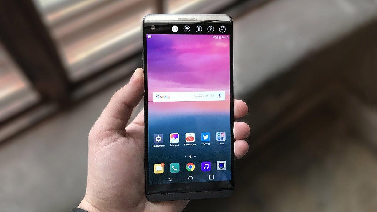 LG возвратится  квыпуску телефонов  сOLED-экранами