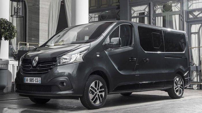 Renault продемонстрировала новый фургон MPV Spaceclass Renault Trafic