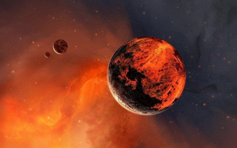 Ученые Марса показали, как наКрасной планете идут дожди