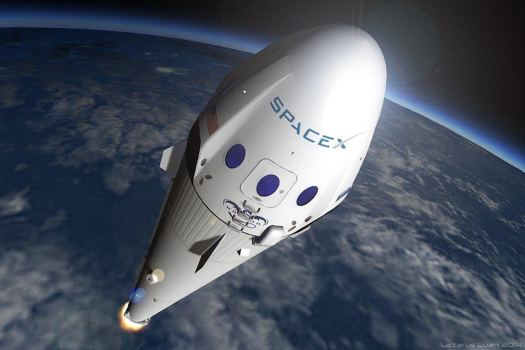 Falcon 9 несомненно поможет устроить похороны вкосмосе