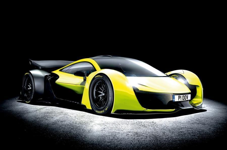 Мак Ларен  в 2023  покажет на100%  электрические суперкары