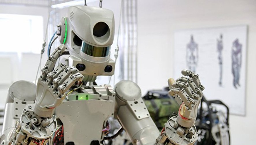 Новый русский  космический робот полетит наМКС в 2021-ом