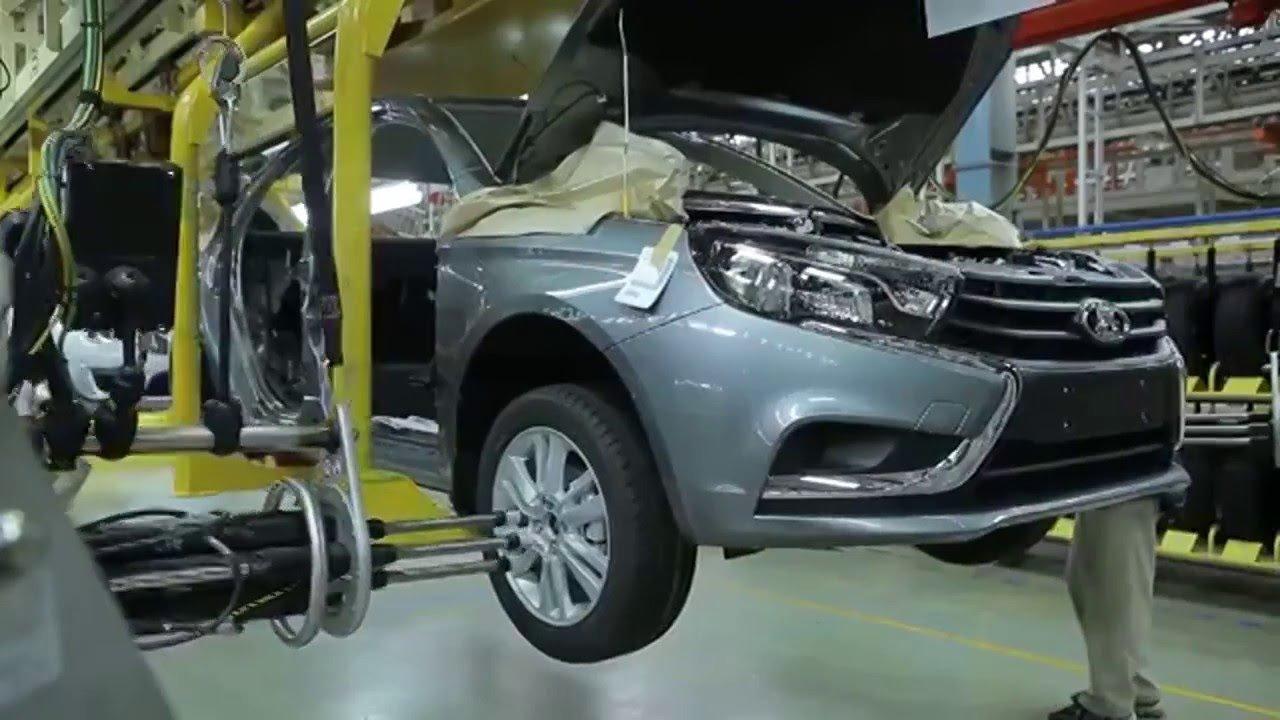 Производство легковых машин в РФ выросло на22,3%