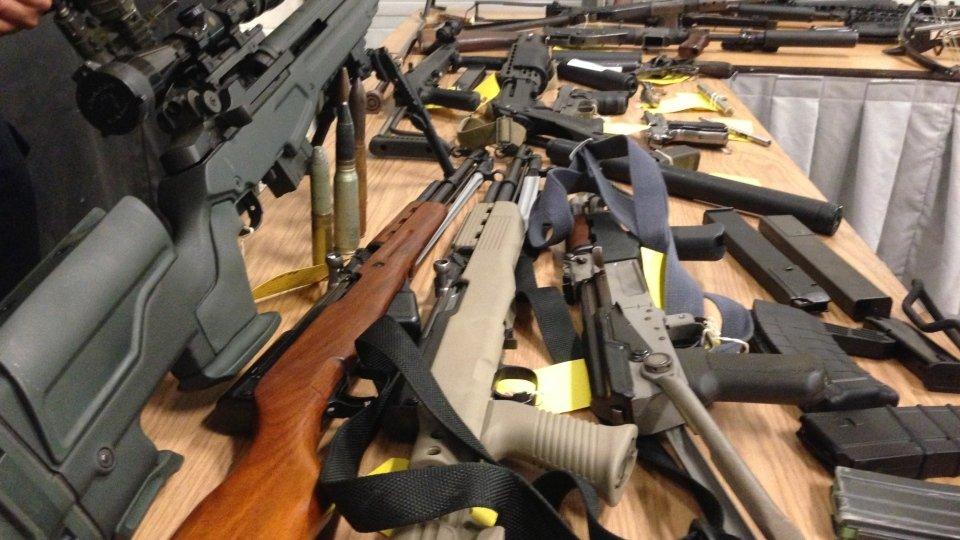 Вдеревне Словакии милиция  отыскала  большой арсенал оружия