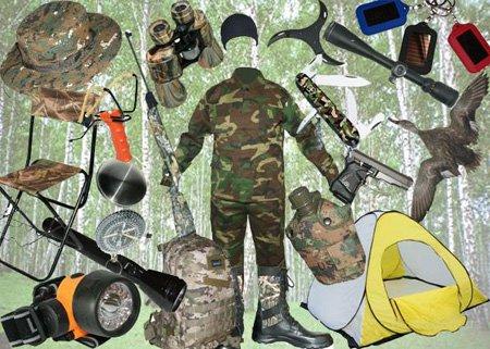 Объявления о товарах для охоты и рыбалки