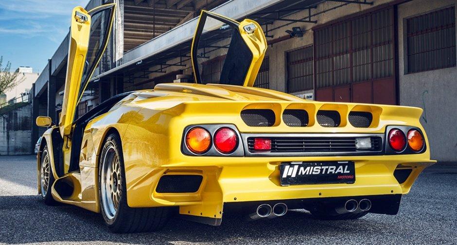 Уникальный образец Lamborghini Diablo GT1 Stradale представили всети