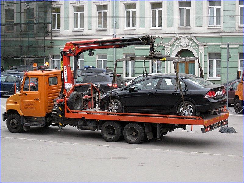 ВБашкирии утвердили тарифы наэвакуацию авто