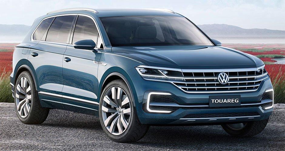 VW  закончил  сборку вседорожников  Touareg назаводе вКалуге