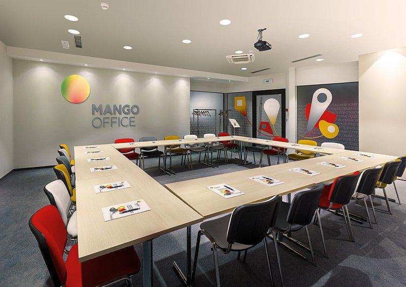 ВMango Office сделаны комнаты для конференций