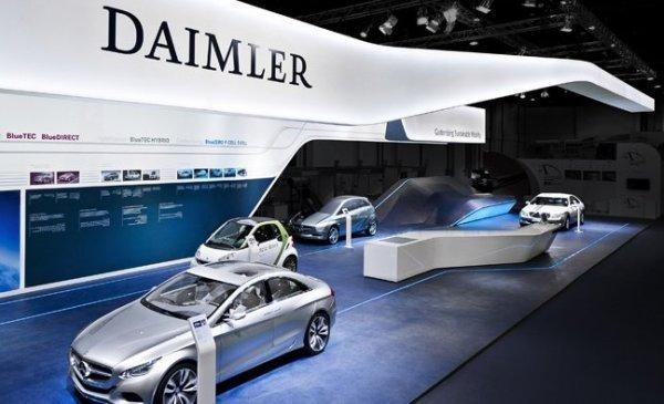Вофисе Daimler вФРГ идут обыски всвязи сдизельным скандалом