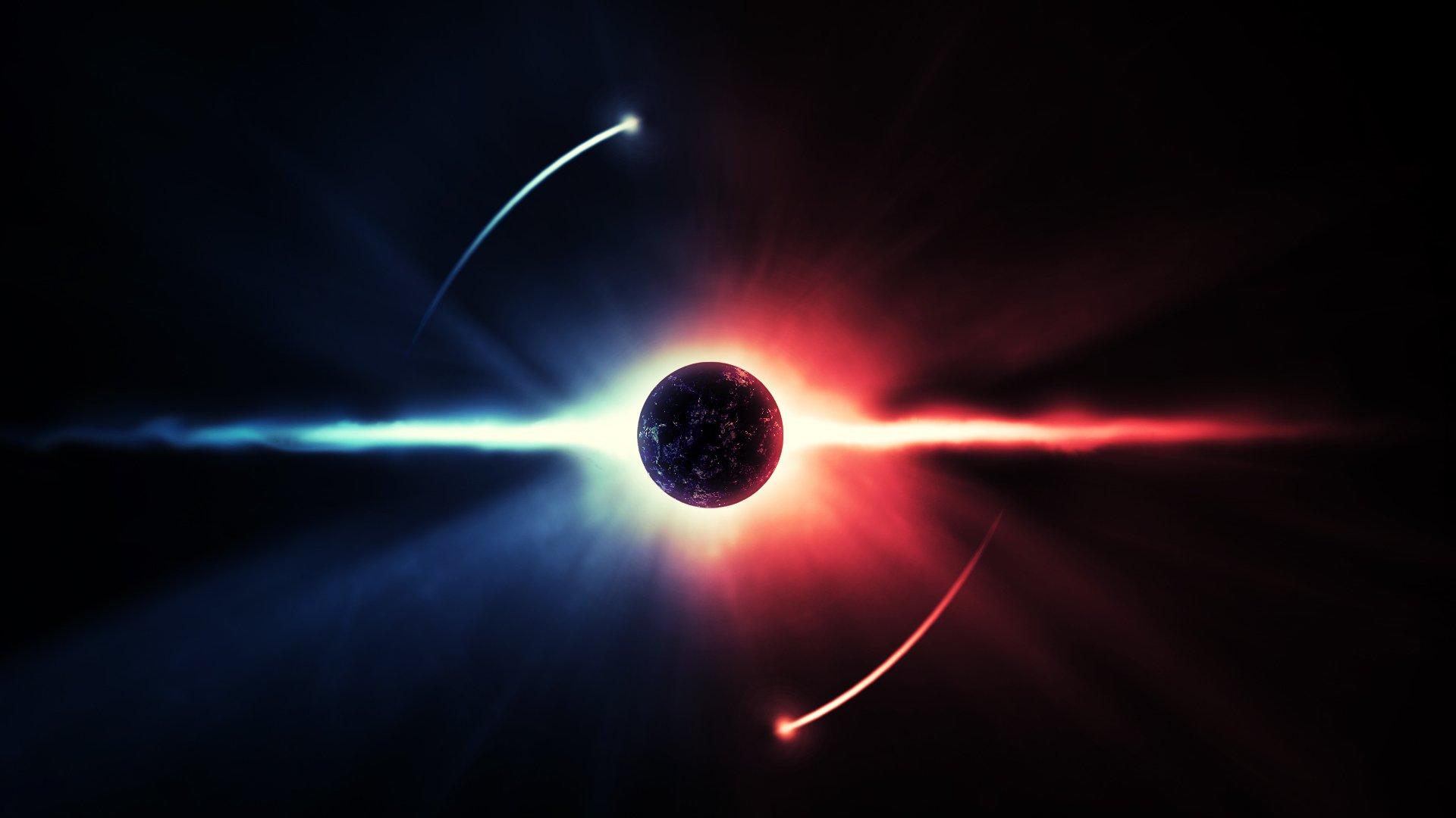 Ученые обнаружили пучок энергии, движущийся в 5  раз скорее  скорости света