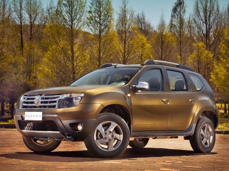 Рено Duster пользуется большей популярностью среди SUV в северной столице
