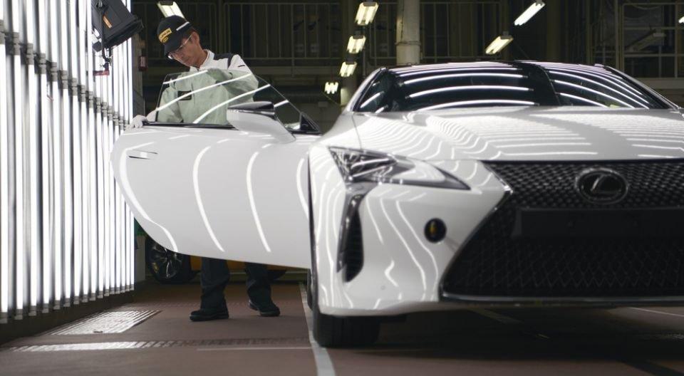 Началось серийное производство купе Лексус LC