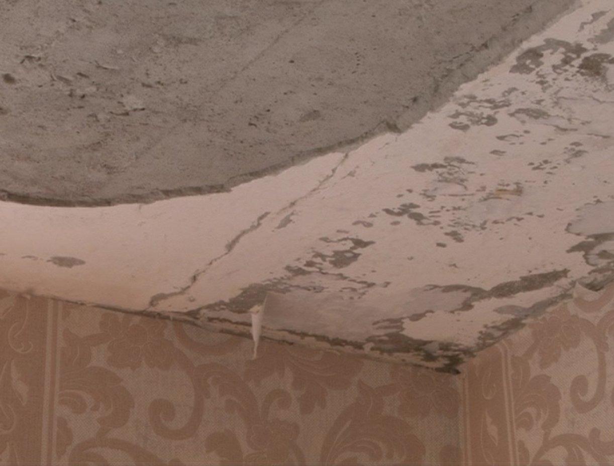 Водной изшкол вТульской области вовремя занятий обвалился потолок