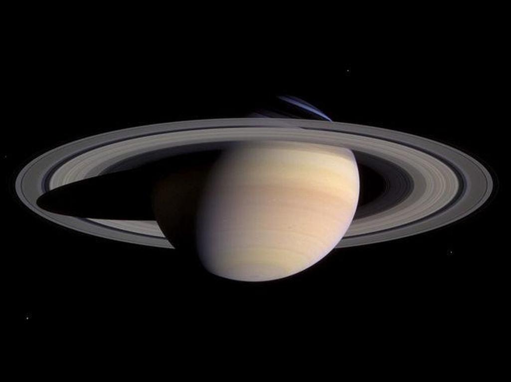 Сатурна в день солнцестояния