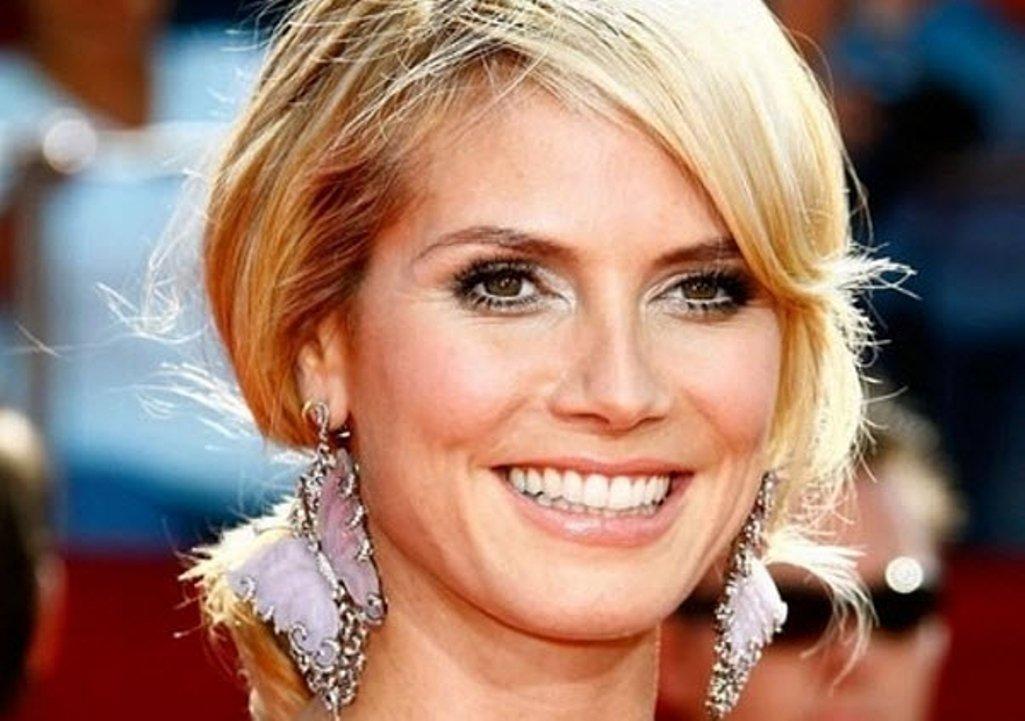 Супермодель Хайди Клум впервые в карьере снялась полностью обнаженной