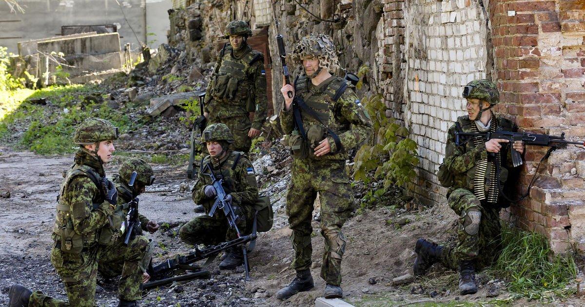 Международные военные учения начались вЭстонии неподалеку от границы сРоссией