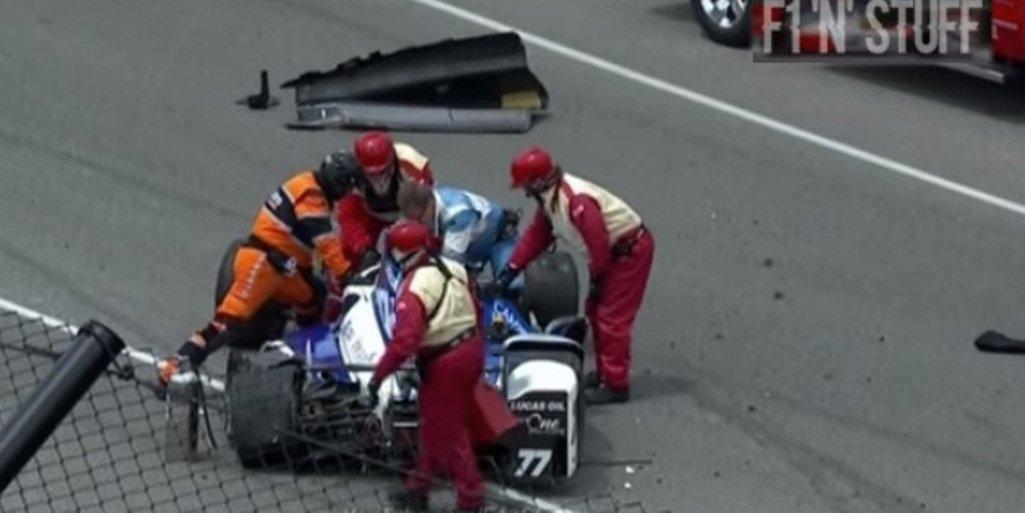 YouTube ВИДЕО: болид пилота IndyCar перевернулся ввоздухе после трагедии