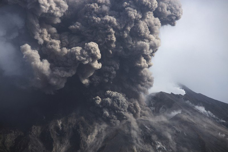 Извержение вулкана Богослов случилось наАляске