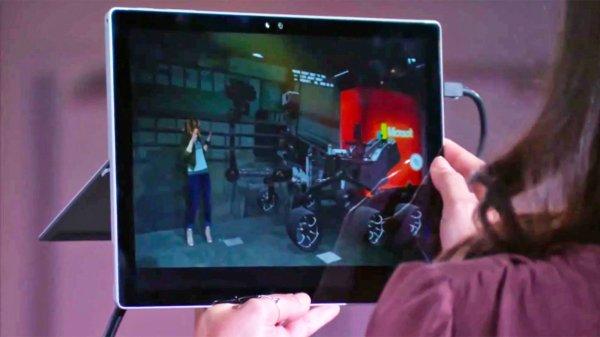 Microsoft позволит видеть смешанную реальность при помощи веб-камеры