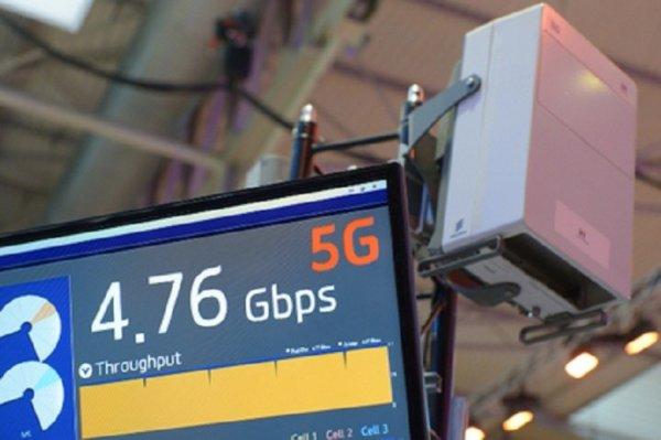 Сети 5G начнут работать в российских мегаполисах в 2020 году